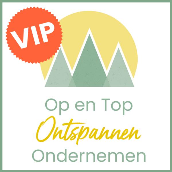 Op en Top Ontspannen Ondernemen VIP - Nicole Hermans